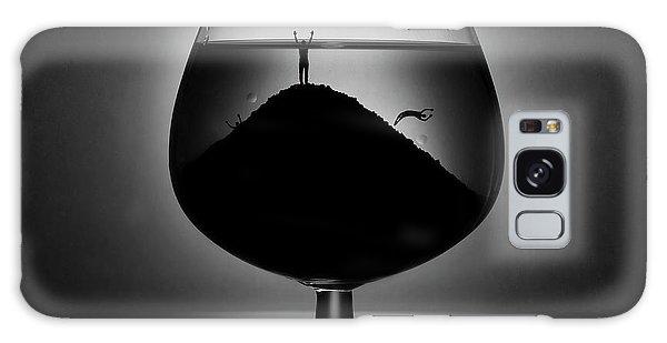 Drown Galaxy Case - Alcoholism by Victoria Ivanova