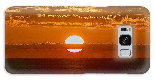 Aldinga Beach Sunset Galaxy Case