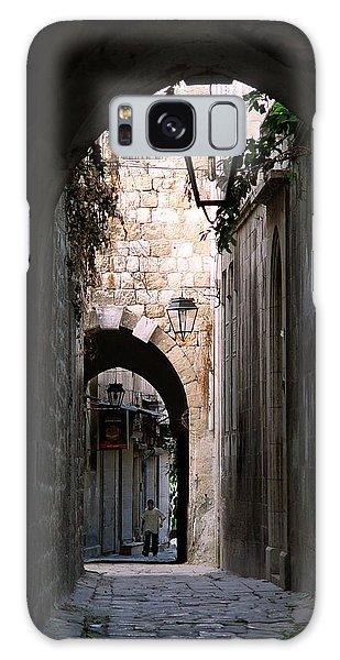 Aleppo Alleyway01 Galaxy Case