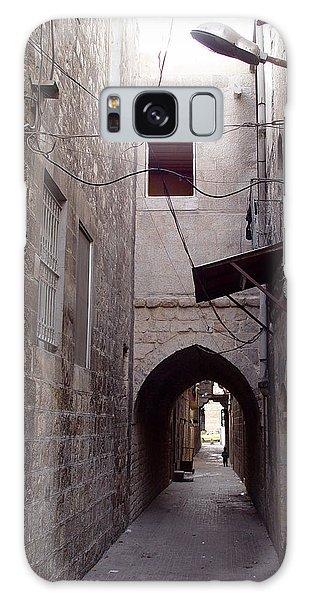 Aleppo Alleyway04 Galaxy Case