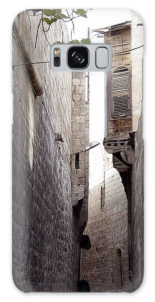 Aleppo Alleyway05 Galaxy Case