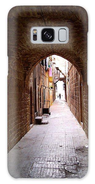 Aleppo Alleyway06 Galaxy Case