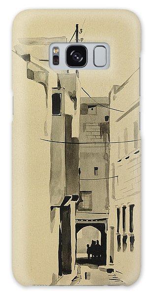 Aleppo Old City Alleyway 2 Galaxy Case