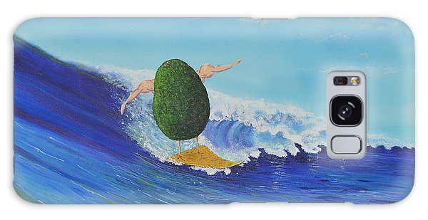 Alex The Surfing Avocado Galaxy Case