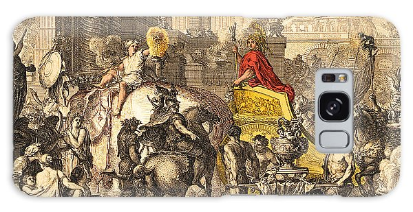 Art Institute Galaxy Case - Alexander The Great Entering Babylon by Getty Research Institute
