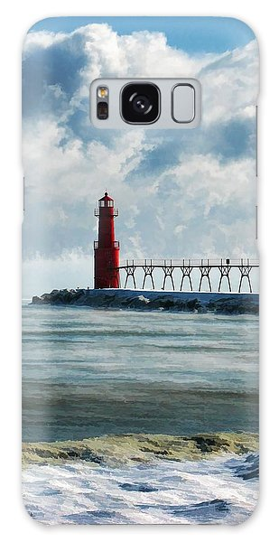 Algoma Pierhead Lighthouse Galaxy Case