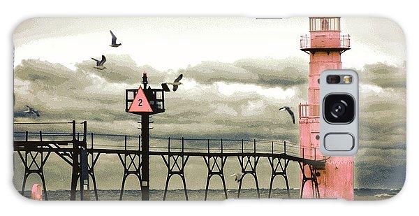 Algoma Pierhead Lighthouse Galaxy Case