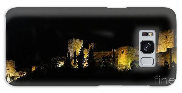 Alhambra At Night Galaxy Case by Rudi Prott
