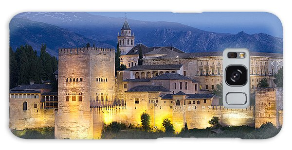 Galaxy Case featuring the photograph Alhambra Palace  by Nathan Rupert