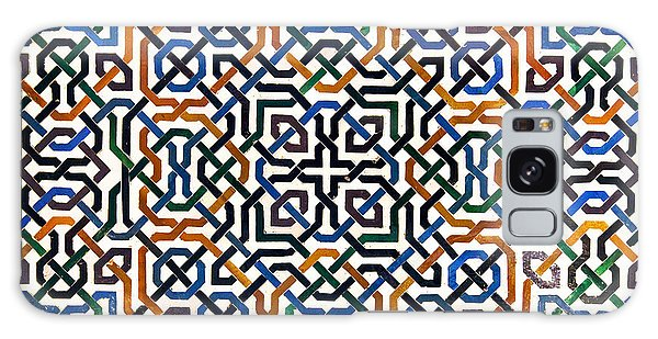 Islam Galaxy Case - Alhambra Tile Detail by Jane Rix