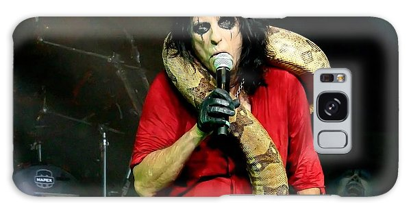 Alice Cooper Galaxy Case - Alice Cooper And Julius Squeezer by Suzanne Donovan