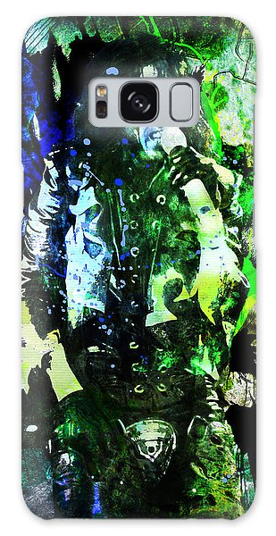 Alice Cooper Galaxy Case - Alice Cooper - Feed My Frankenstein - Original Painting Print by Ryan Rock Artist
