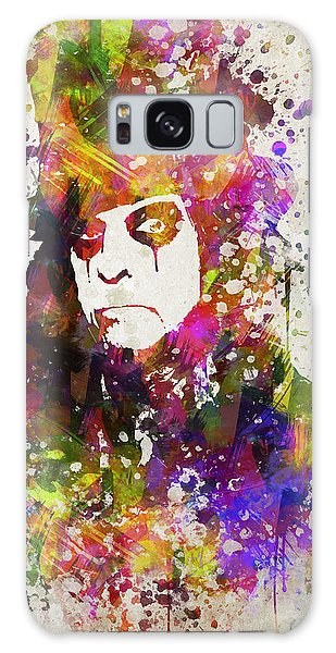 Alice Cooper Galaxy Case - Alice Cooper In Color by Aged Pixel