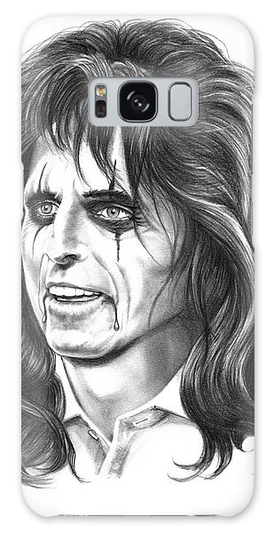 Alice Cooper Galaxy Case - Alice Cooper by Murphy Elliott