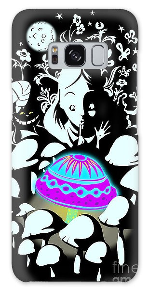 Fairy Galaxy S8 Case - Alice's Magic Discovery by Sassan Filsoof