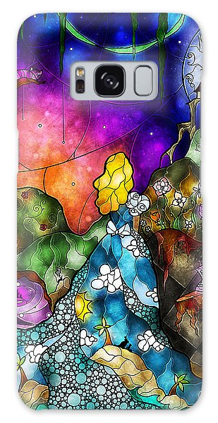 The Sky Galaxy Case - Alice's Wonderland by Mandie Manzano