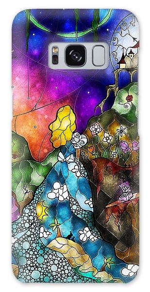 Alice's Wonderland Galaxy Case