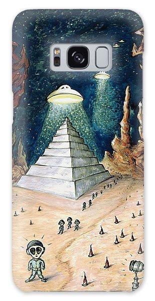 Alien Invasion - Space Art Painting Galaxy Case
