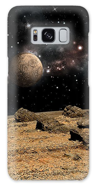 Alien Landscape No.8b Galaxy Case