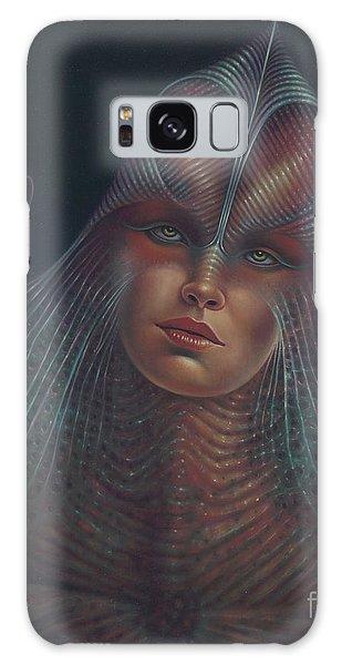 Alien Portrait Il Galaxy Case