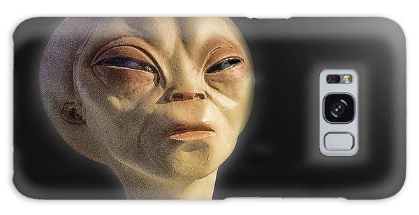 Alien Yearbook Photo Galaxy Case