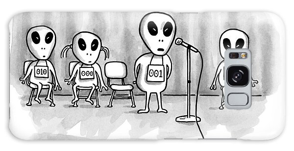 Aliens Participating In A Spelling Bee Galaxy Case