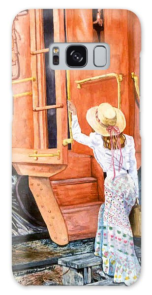 All Aboard  Galaxy Case by Susan Duda