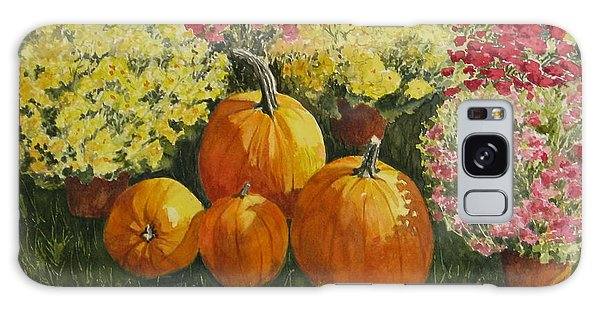 All About The Pumpkins Galaxy Case
