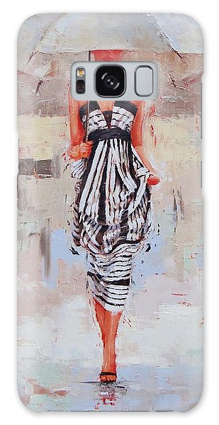 Woman Galaxy Case - All Dressed Up by Laura Lee Zanghetti