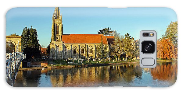All Saints Church Marlow Galaxy Case by Tony Murtagh