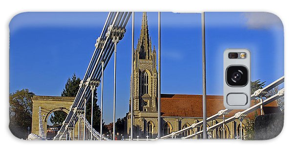 All Saints Church Galaxy Case by Tony Murtagh
