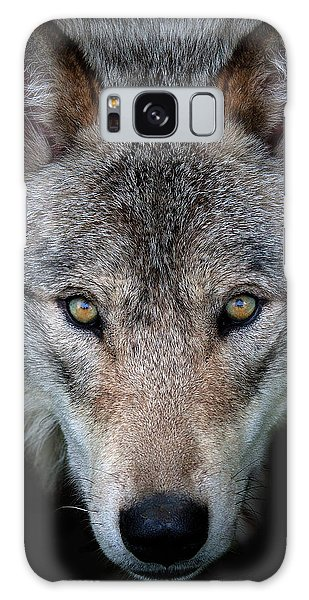 Furry Galaxy Case - All The Better To See You - Timber Wolf by Jim Cumming