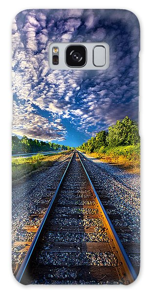 Galaxy Case featuring the photograph All The Way Home by Phil Koch
