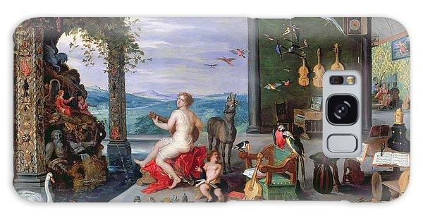 Trombone Galaxy Case - Allegory Of Music Oil On Canvas by Jan the Elder Brueghel