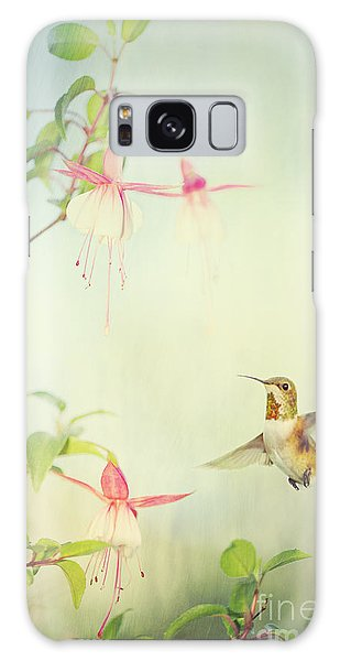 Allen's Hummingbird And Fuschia Galaxy Case