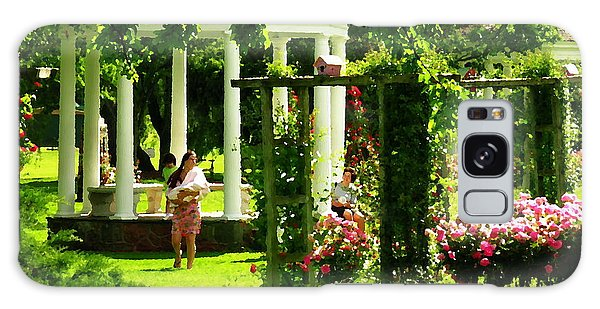 Allentown Pa - Walk In The Rose Gardens Galaxy Case