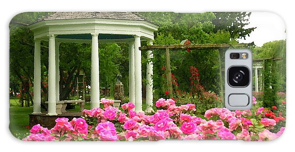 Allentown Pa Gross Memorial Rose Gardens Galaxy Case