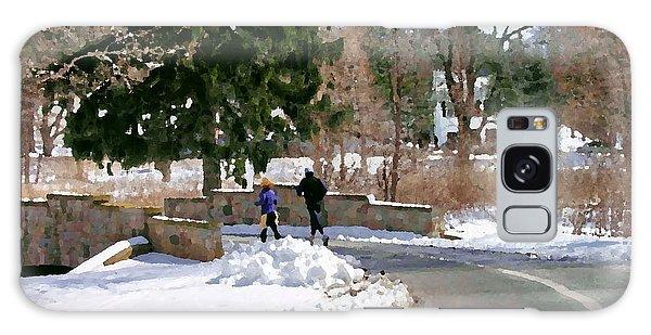 Allentown Pa Trexler Park Winter Exercise Galaxy Case