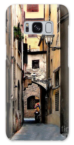 Alley In Florence 1 Galaxy Case