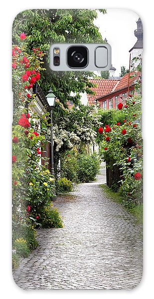 Alley Of Roses Galaxy Case