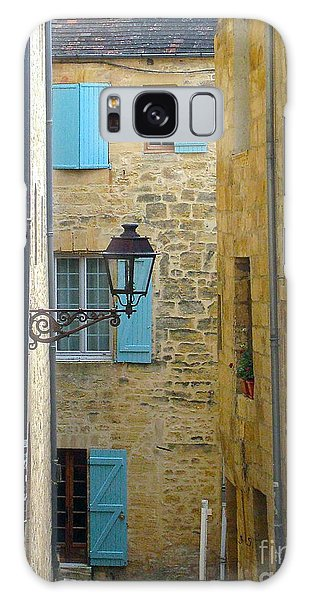 Alleys Of Sarlat II Galaxy Case by Suzanne Oesterling