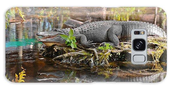 Alligator Mississippiensis Galaxy Case