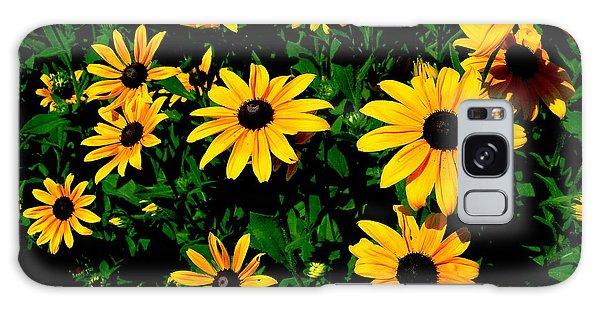 Sunflower Allure Galaxy Case