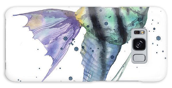 Alluring Angelfish Galaxy Case