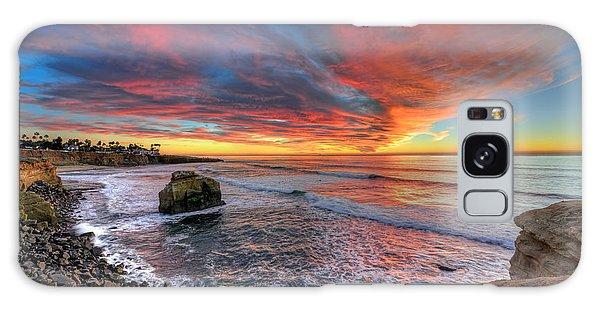 Alluring Sunset Galaxy Case