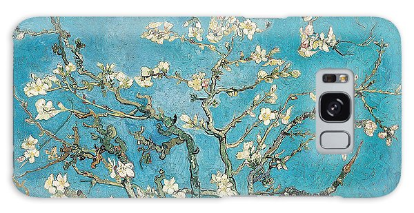 Almond Branches In Bloom Galaxy Case