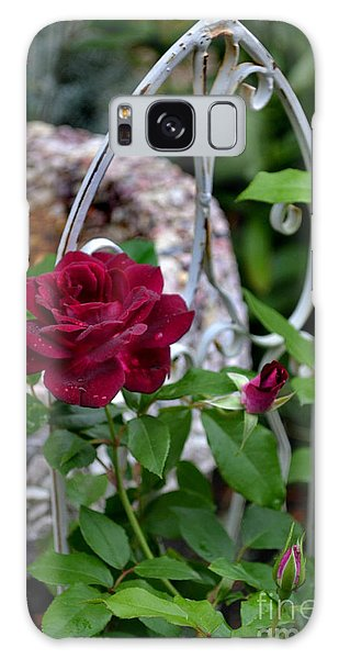 Almost A Perfect Rose Galaxy Case by Eva Thomas
