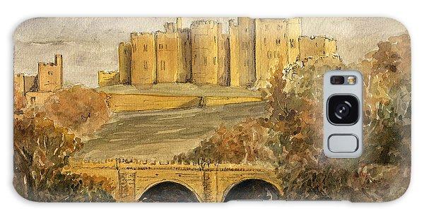 Castle Galaxy Case - Alnwick Castle by Juan  Bosco