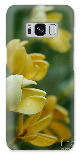 Gardenia Galaxy Case - Aloha He Pua Lahaole Kula Gardenia Grandiflora by Sharon Mau