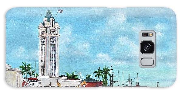 Aloha Tower Galaxy Case